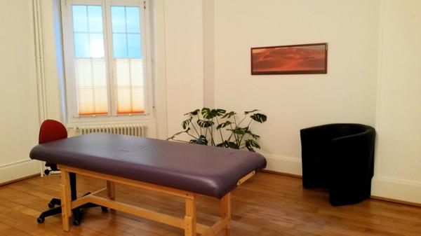Salle de travail de Nadine Debétaz à Lausanne, Rue Haldimand 15.